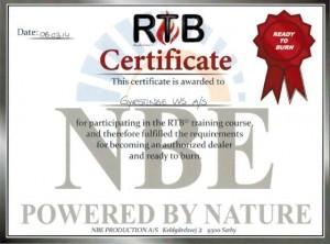 RTB forhandler - Gyrstinge VVS A/S er Certificeret forhandler af RTB pillefyr.